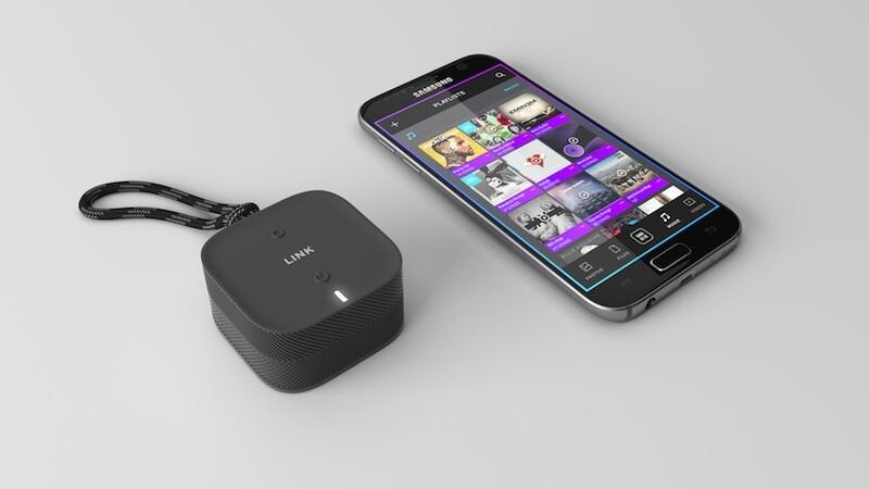 手のひらサイズのワイヤレスストレージデバイス:LINK