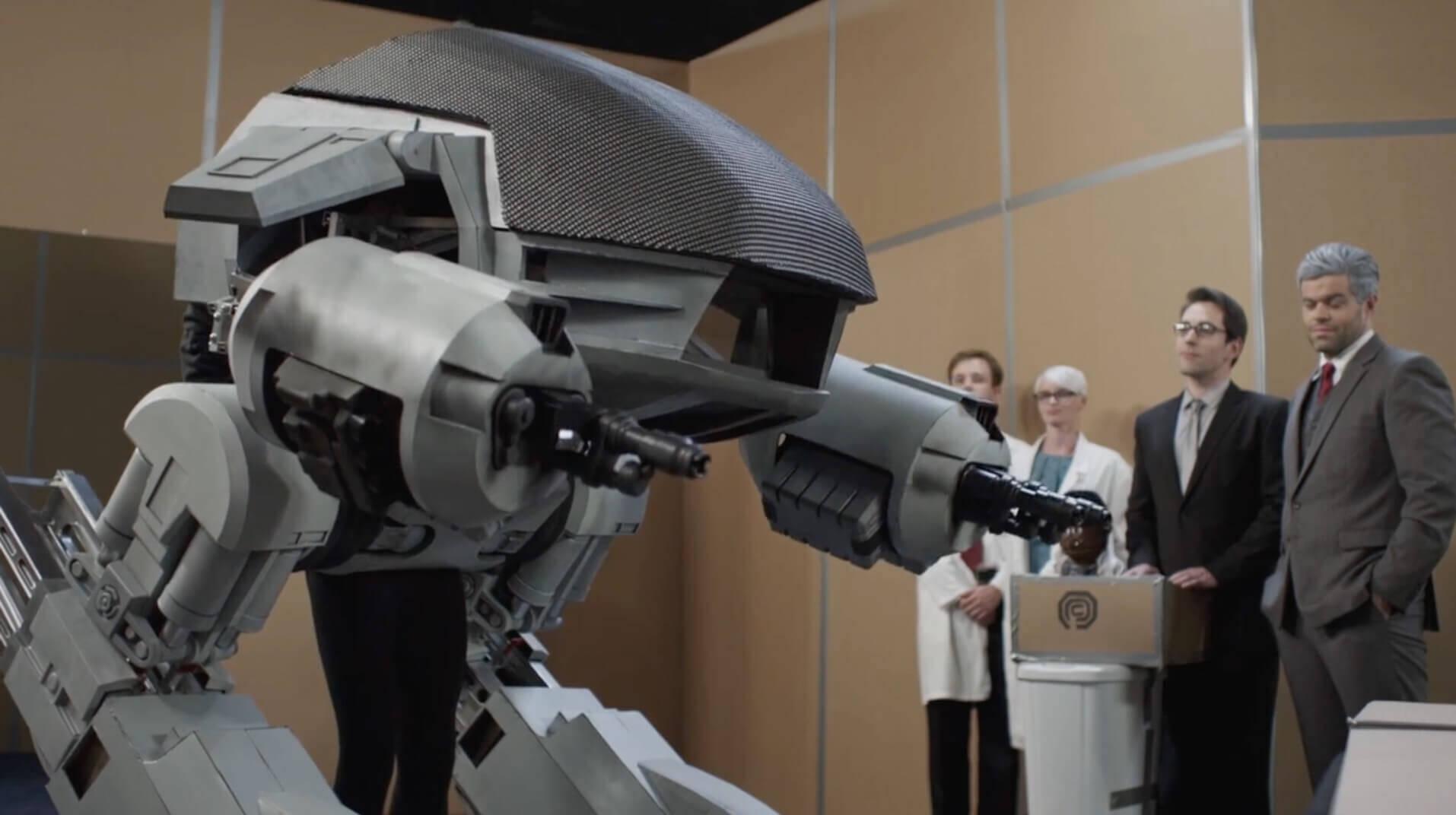クオリティがめちゃくちゃなロボコップのファンムービー:Our RoboCop Remake