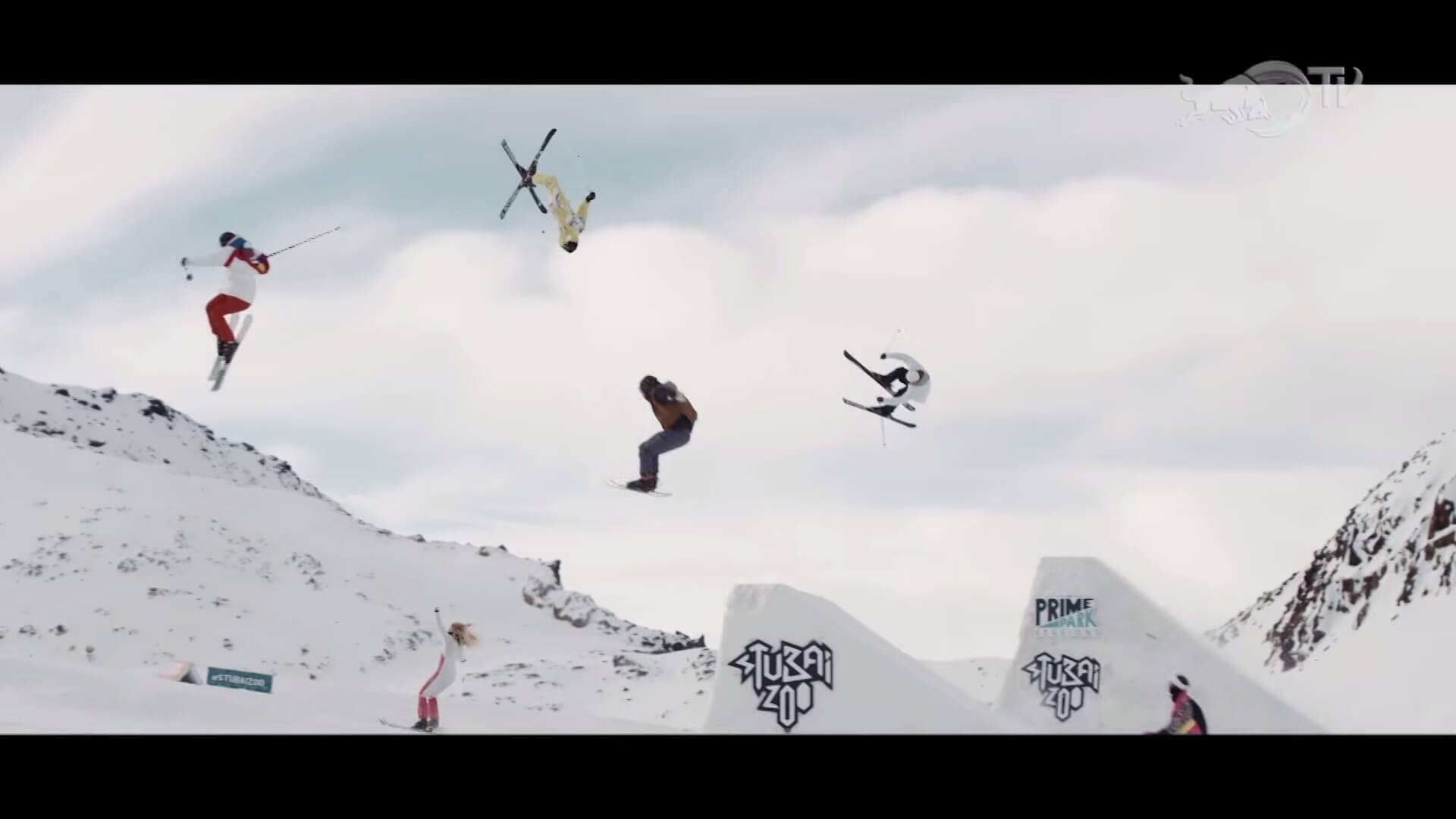 フリースタイルスキー スキー50年の歴史を振り返る映像:50 Years of Style