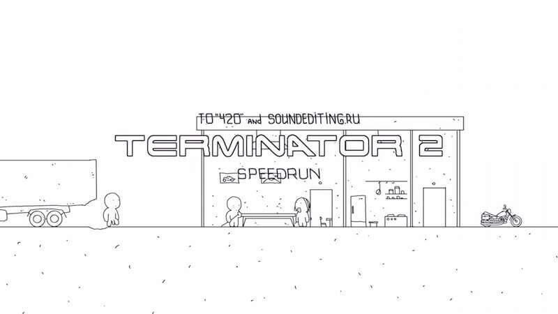 60秒で振り返る、映画「ターミネーター2」のアニメーション