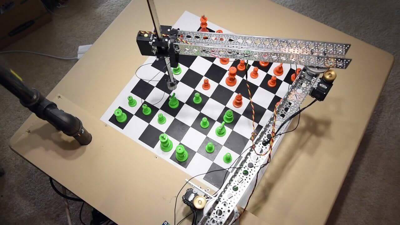 Raspberry Piを使ったオープンソースのDIYチェスロボット