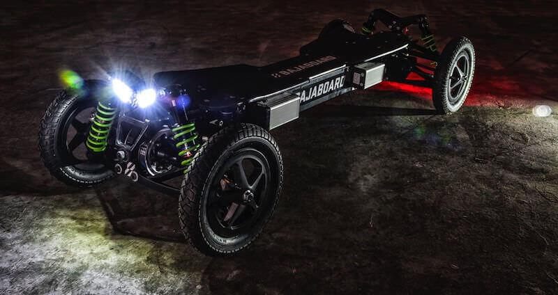 オフロード走行可能なエレクトリックボード:BajaBoard