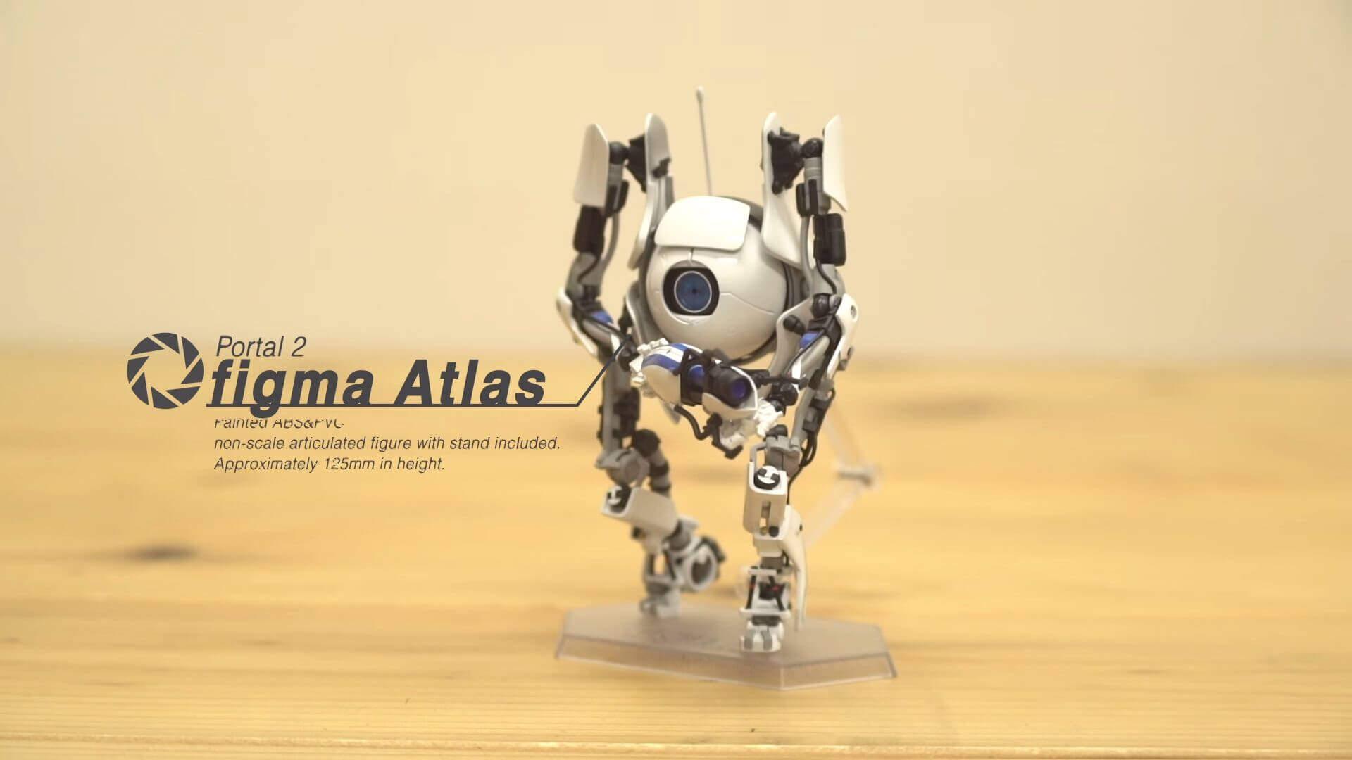 『Portal2』の「Atlas」がfigmaになって登場!!2017年11月発売