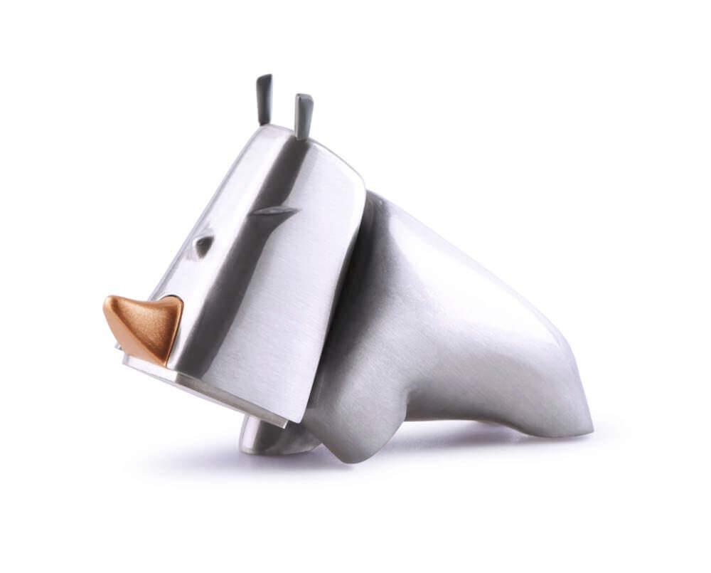 サイの形をしたカワイイハンマー:RHINO