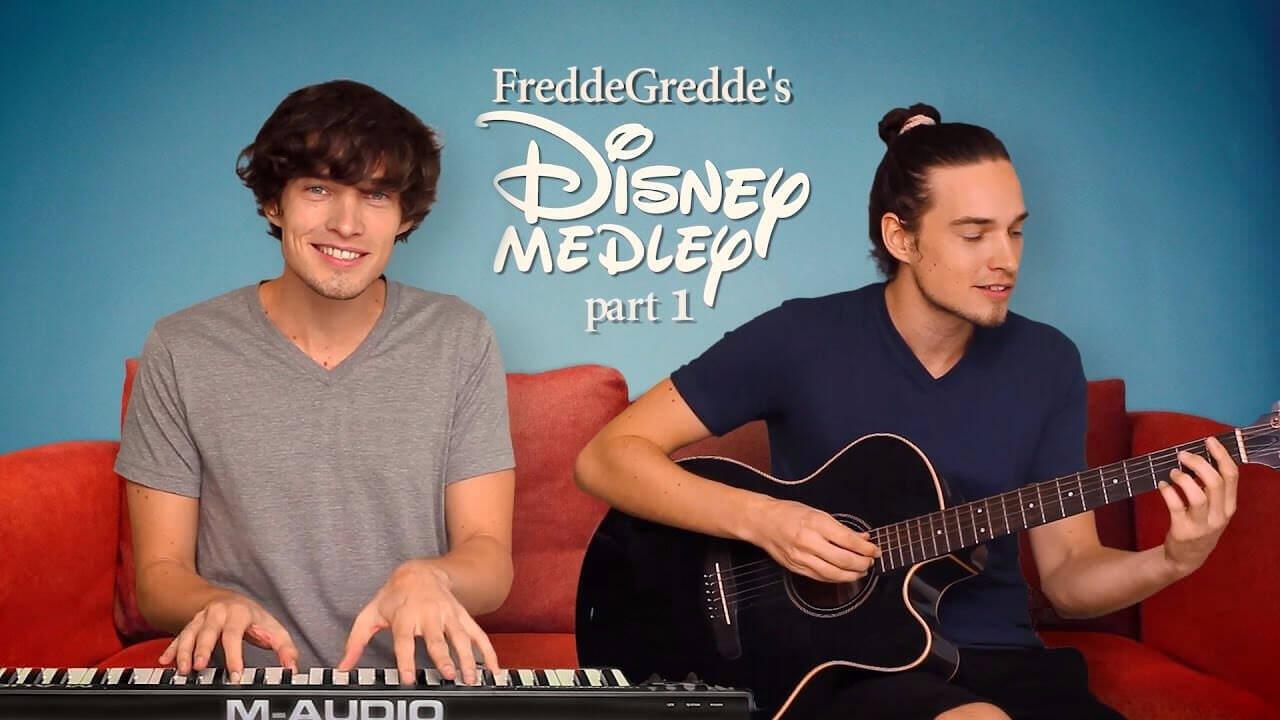 ギターとキーボードでディズニーソングメドレーがめっちゃ楽しいそう!FreddeGredde