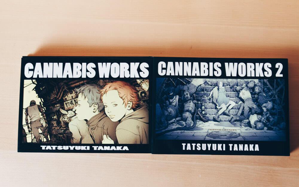 田中達之氏の作品集『CANNABIS WORKS』と『CANNABIS WORKS 2』