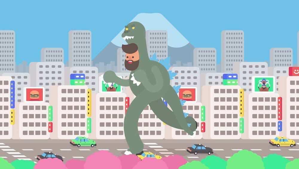 東京をイメージした30種類のアニメーション:Tokyo Gifathon
