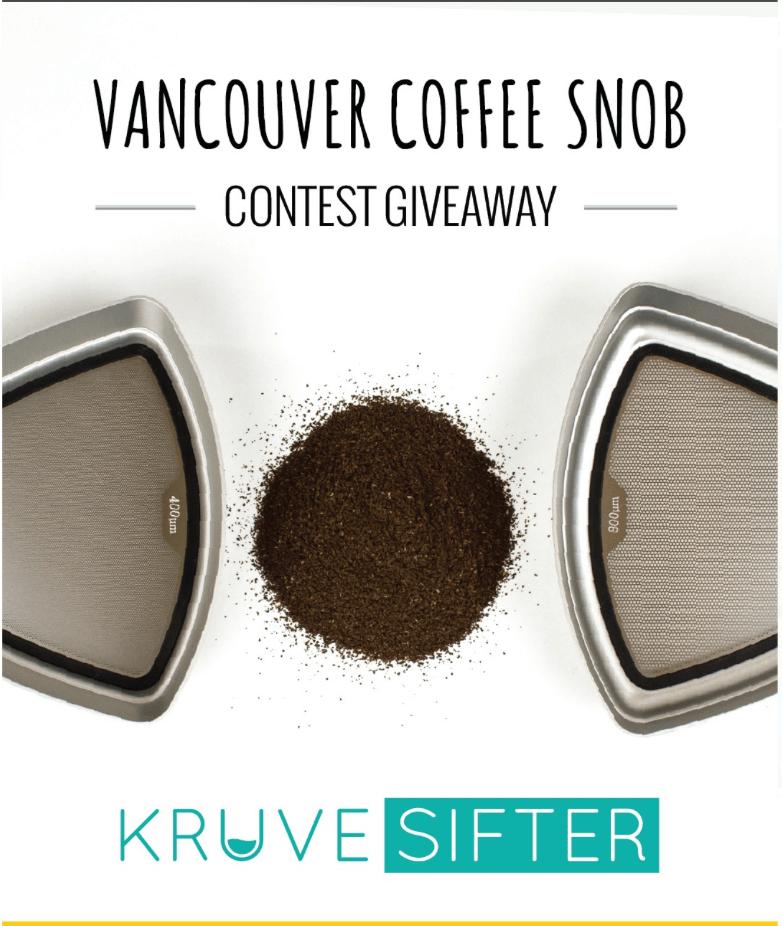 挽いたコーヒー豆を選別するためのふるい:KRUVE SIFTER