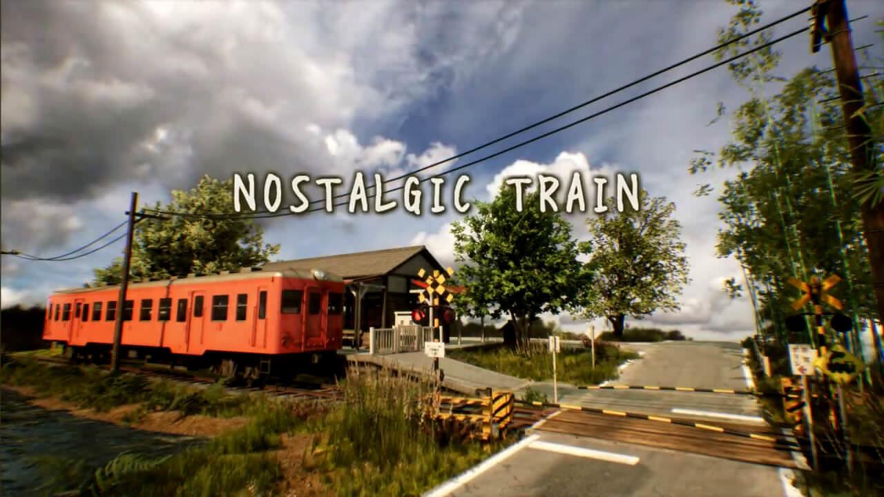 日本の田舎をUnreal Engine 4でリアルに表現したCG作品:NOSTALGIC TRAIN