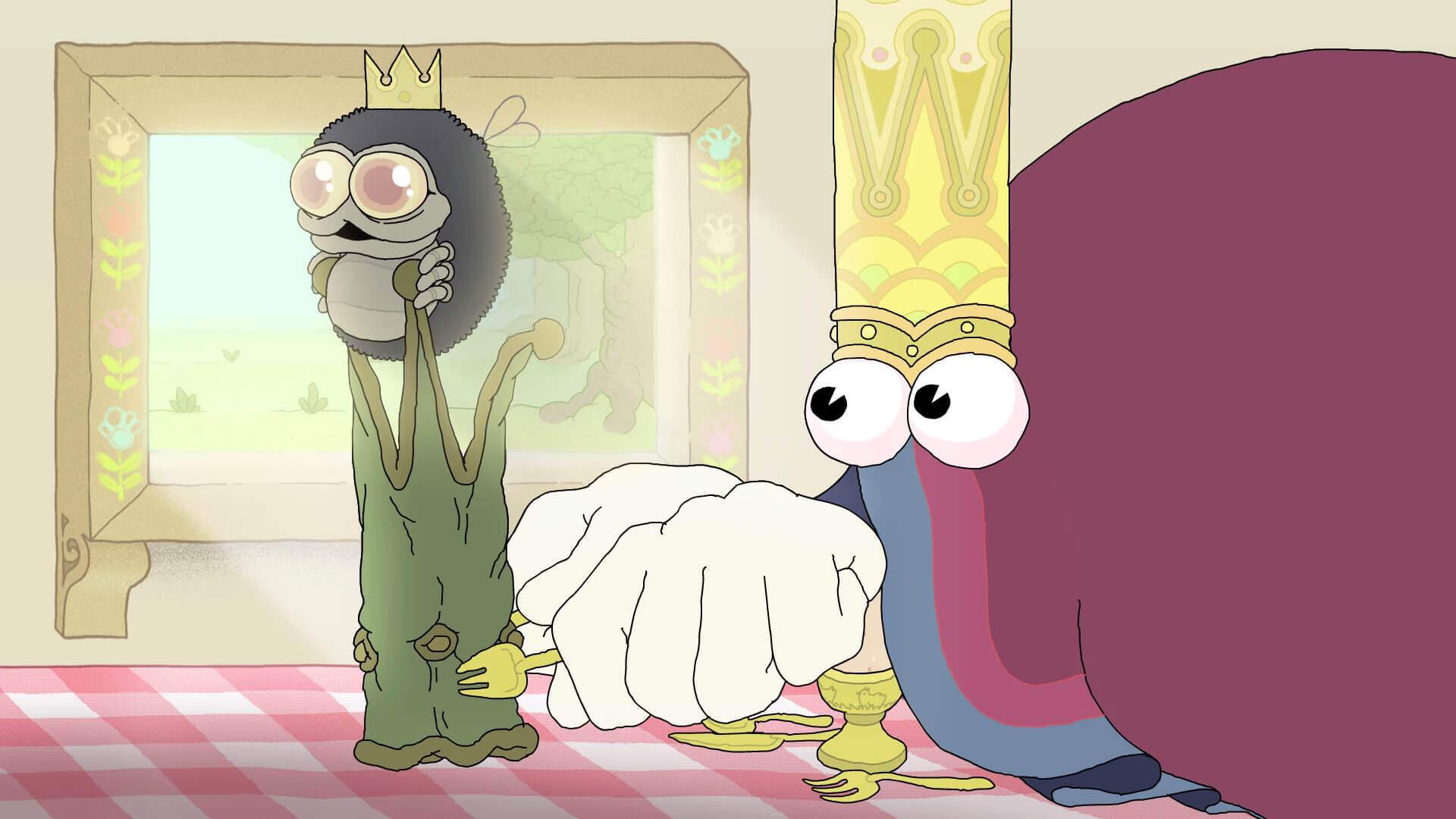 とにかく王冠が欲しいやつのショートアニメ