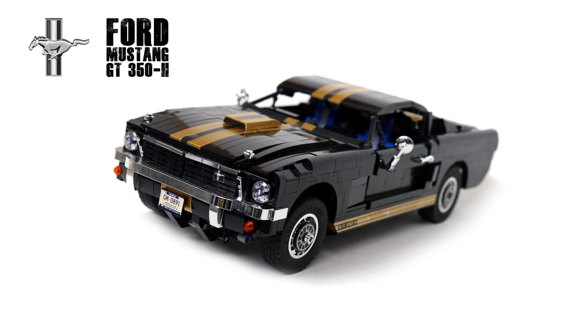 めっちゃこだわってるLEGO製のマスタングGT350HのRCカー