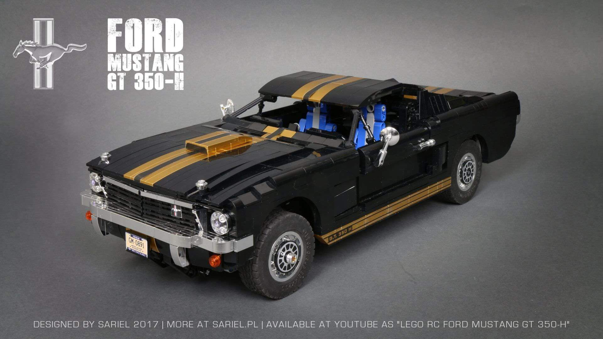 1000 shelbymustanggt350hlego