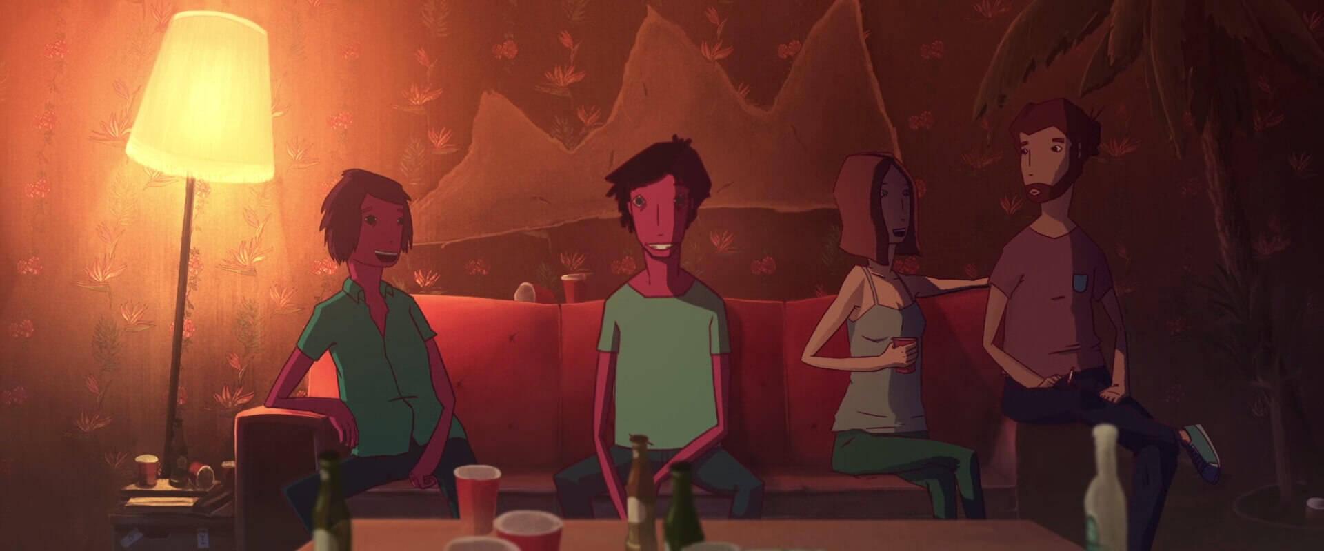 ヤバイ薬で見える世界をアニメーションで表現