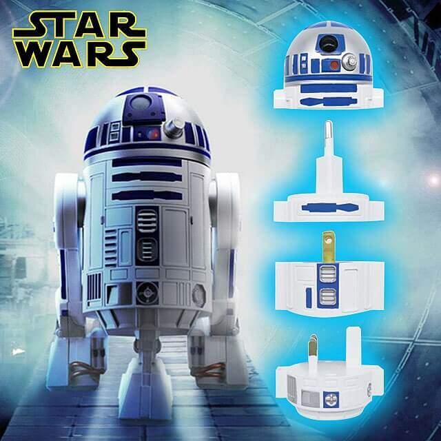 R2-D2な電源変換プラグ。これが有れば宇宙ステーションでも対応できる!?
