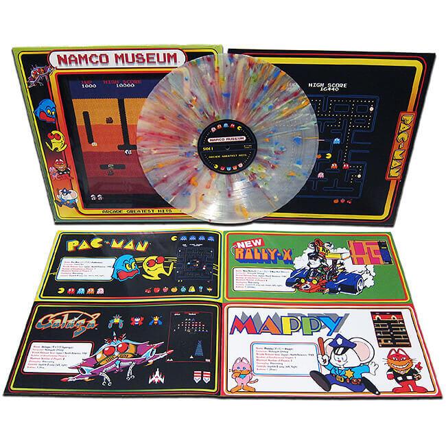 ナムコの名作BGMが19曲入ったLPで懐かしみたい!Namco Museum – Greatest Hits Exclusive