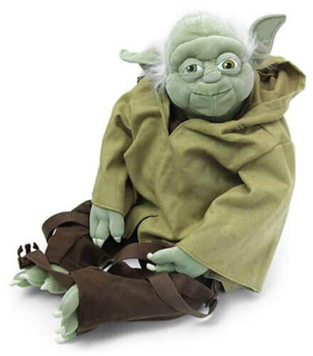 Yoda jedi training backpack 3