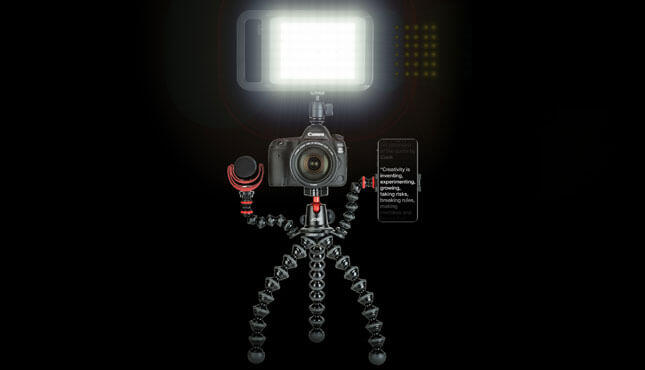 Gorillapod Rig Big LED