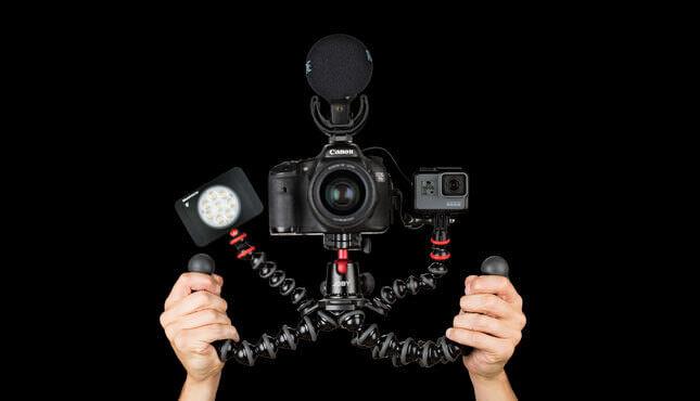 ビデオブロガー必須!?ゴリラポッドにリグみたいにアクセサリーをつけられるGorillaPod RIGが登場