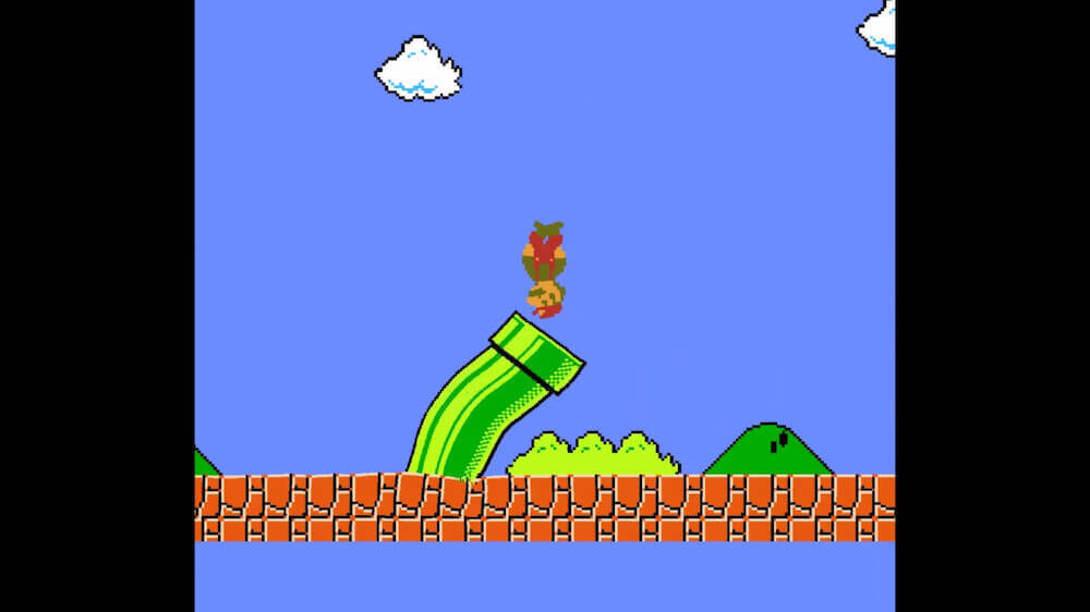 Jelly Super Mario Brothers screenshot 1 1000x562