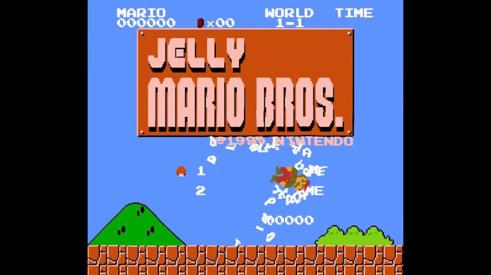 Jelly Super Mario Brothers screenshot 1000x562