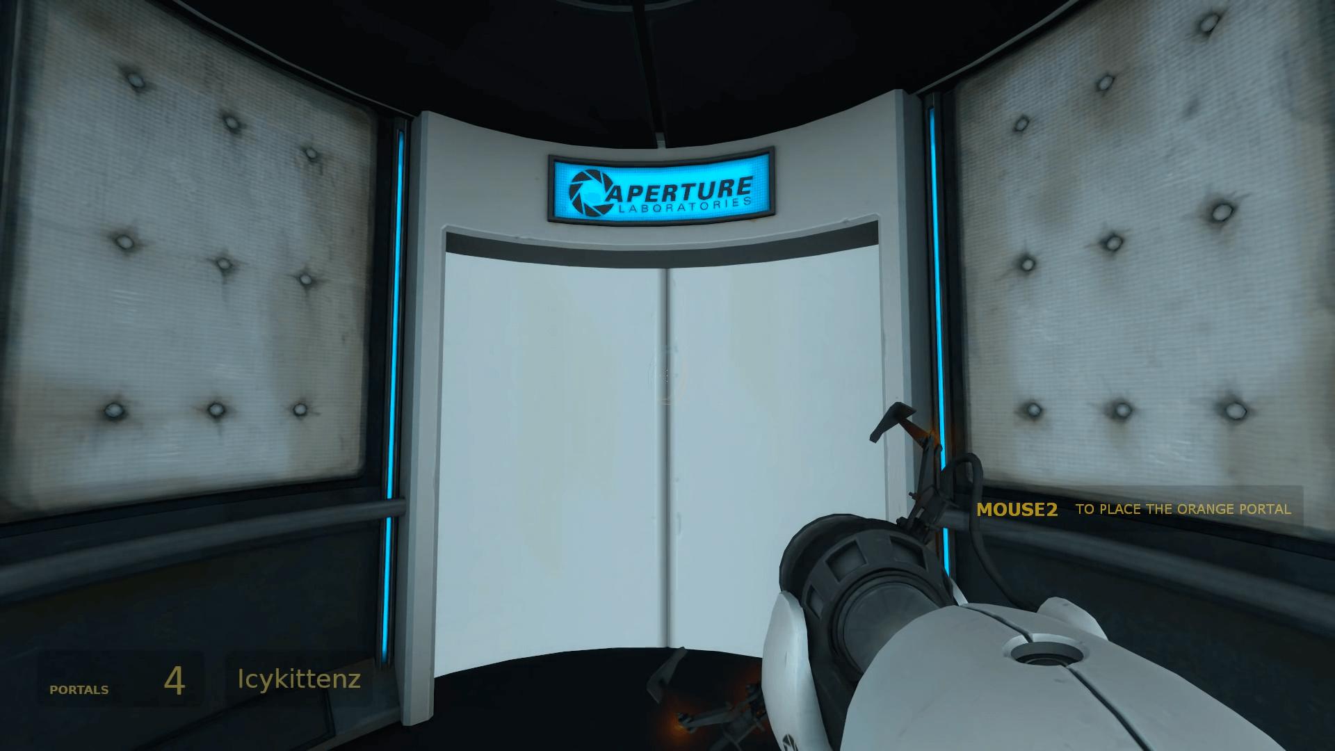 終始わけがわからない。オブジェを駆使して人気アクションパズル「Portal」を13:47でクリアする影像
