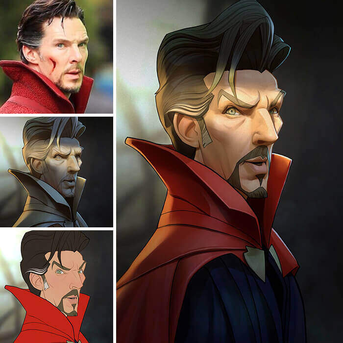 Xi ding marvel characters 1 1