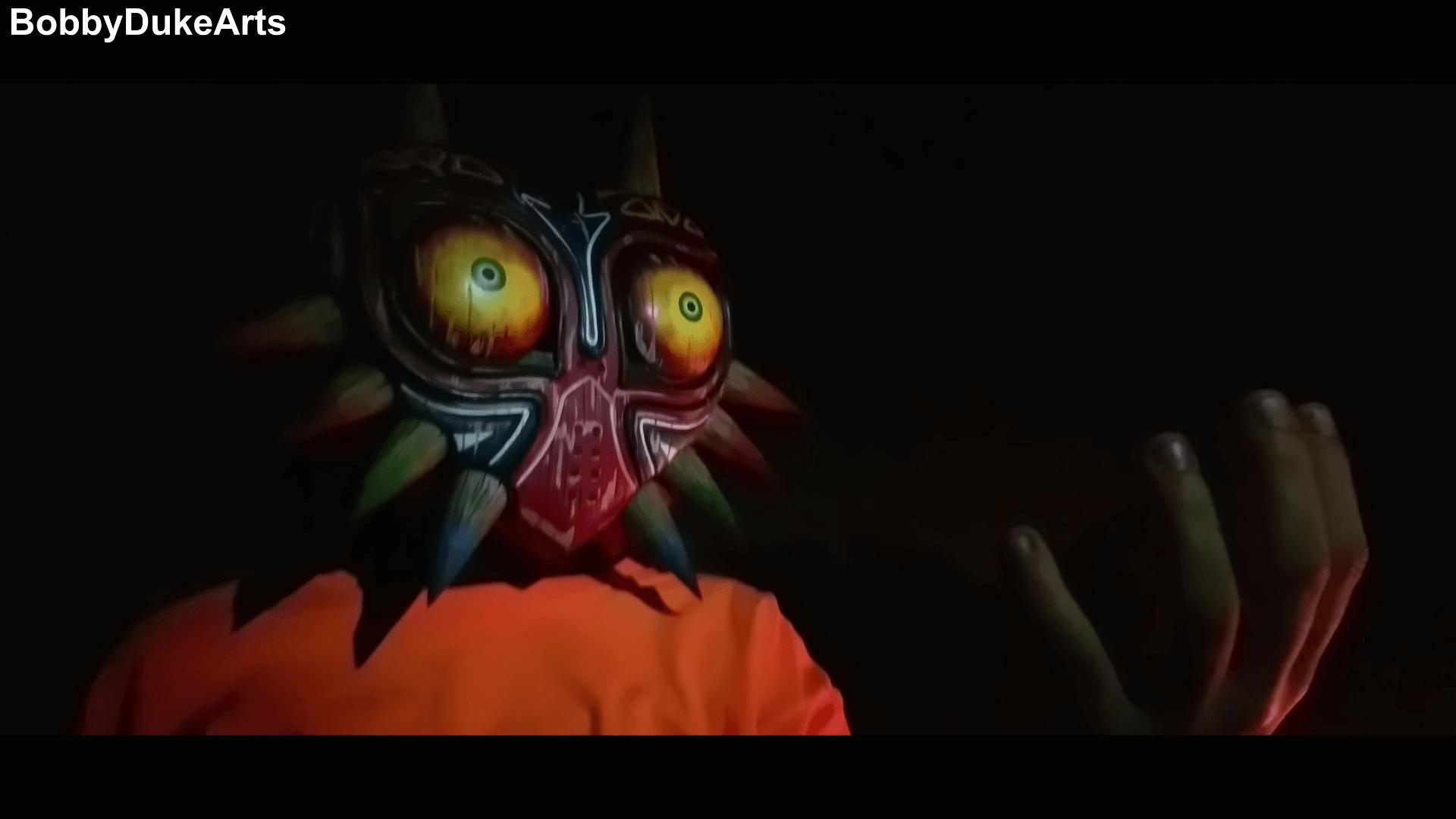 木製のムジュラの仮面って結構良さげじゃね?クラフターによる映像