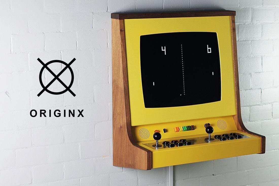壁掛けレトロゲームコンソール:ORIGINX