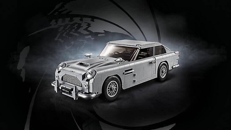 LEGOで蘇るギミックだらけのボンドカー、アストンマーティン・DB5