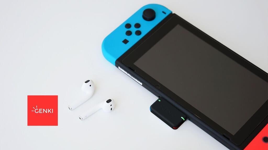 Nintendo Switchの音をBluetooth化するアイテム:GENKI