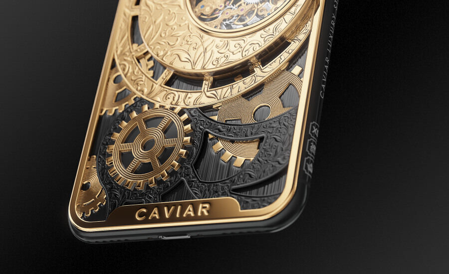 Caviar grand complications skeleton gold photo3