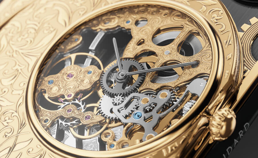 Caviar grand complications skeleton gold photo6