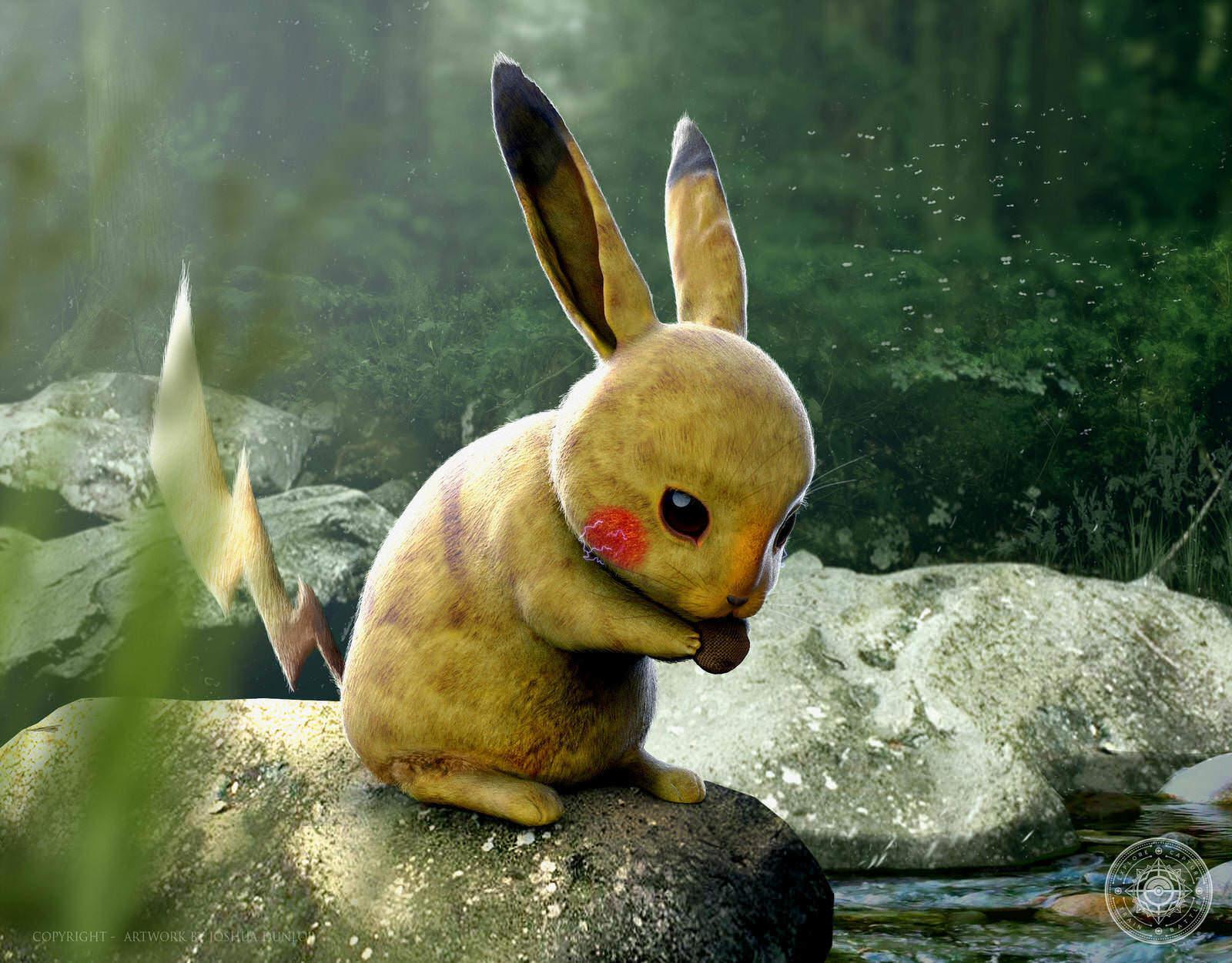 Pikachu by joshuadunlop darhj7h fullview