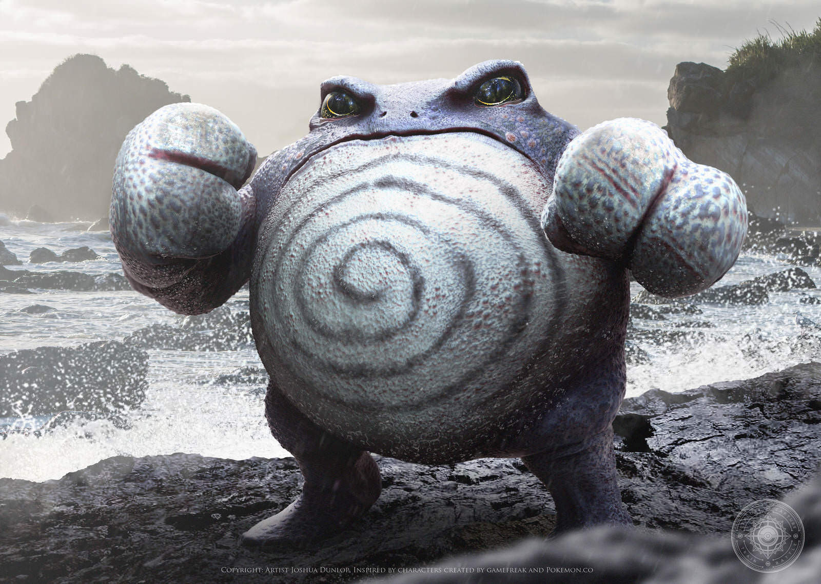 Poliwrath by joshuadunlop dcpenfs fullview